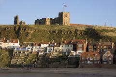 Whitby - Yorkshire - England Stock Photos