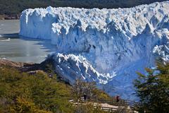 Perito Moreno Glacier in Patagonia - Argentina Stock Photos