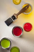 Painting and Decorating - Interior Design - stock photo