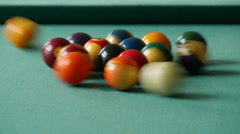 Billiard pool 4k Stock Footage