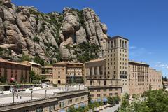 Montserrat - Catalonia - Spain - stock photo