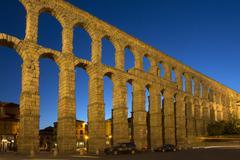 Segovia Roman Aqueduct - Spain Stock Photos