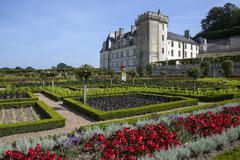 Villandry - Loire Valley - France - stock photo