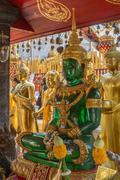 Doi Suthep Buddhist Temple - Chiang Mai - Thailand Stock Photos