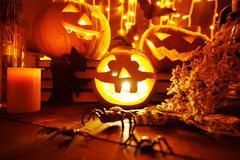 Halloween eve Stock Photos