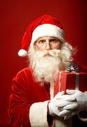 Amazed Santa Stock Photos