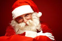 Kind Santa Claus Stock Photos
