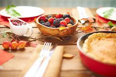 Berry snack Stock Photos