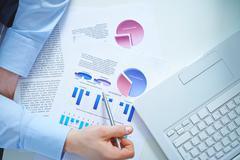 Analysis of market Stock Photos