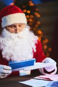 Presenting Christmas journey - stock photo