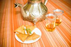 Moorish tea Stock Photos