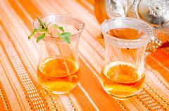 Moorish tea - stock photo