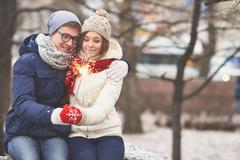 Holiday atmosphere Stock Photos