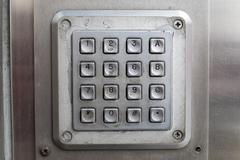 Keypad - stock photo