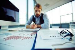 Office environment - stock photo