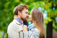 Attraction and love - stock photo