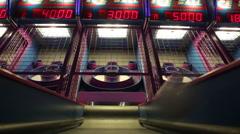 Skee-Ball Stock Footage