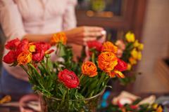 Floral buds Stock Photos