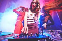 Disco sound Stock Photos