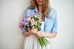 Fragrant flowers - stock photo