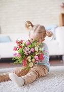 Floral fragrance Stock Photos