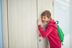 Eavesdropping - stock photo
