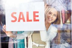 Sale announcement Stock Photos
