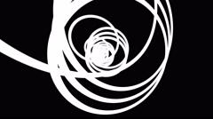 4k build up targets white inspiring amazing incredible mystifying Stock Footage