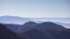 4k tiz n test atlas morocco mountains mist clouds timelapse - stock footage