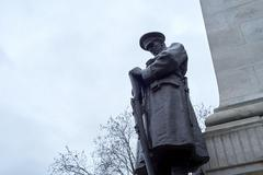 Northwestern Railway Company WW1 memorial - stock photo
