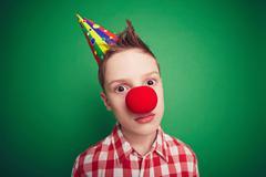 Hilarious child - stock photo