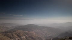 4k tiz n test atlas morocco mountains mist clouds timelapse Stock Footage