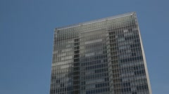 Office building and sky, Tokyo, Japan - stock footage