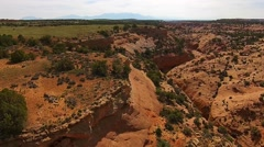Slot Canyon Utah from above - stock footage