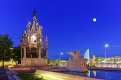 Brunswick monument, Geneva, Switzerland, HDR Kuvituskuvat