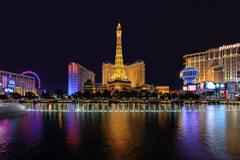 The Las Vegas Strip Stock Photos