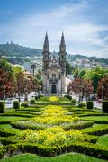 St. Gualter Church in Guimaraes, Portugal Stock Photos