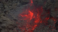 Lava flow Stock Footage