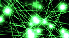 4k Shine star laser energy space,ray light particle,dot point nightclub stage. Stock Footage