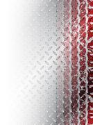 Grunge red tire brochure background Stock Illustration