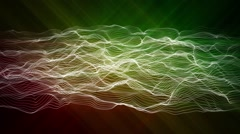 Abstract beautiful background and 3d line. Stock Footage