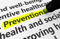 Prevention Healthcare Concept - stock illustration