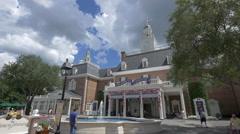 The American Adventure in Orlando, Florida Stock Footage
