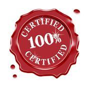 Certified Quality Guarantee Warranty Stock Illustration