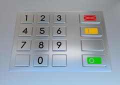 Atm machine keypad Piirros