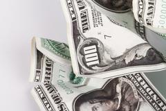 Stock Photo of Crumpled Money