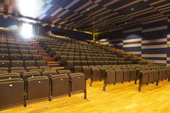 Stock Photo of Seats in empty auditorium
