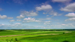 panoramic views of meadows - stock footage