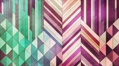 Colorful mosaic abstract background animation. 4K resolution Stock Footage