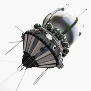 3d model of Spaceship Vostok-1